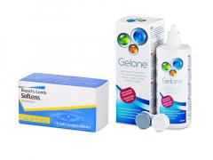SofLens Multi-Focal (3 lęšiai) + valomasis tirpalas Gelone 360 ml
