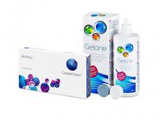 Biofinity (3 lęšiai) + valomasis tirpalas Gelone 360 ml