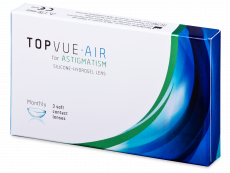TopVue Air for Astigmatism (3 lęšiai)