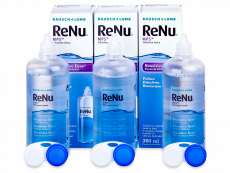 Valomasis tirpalas ReNu MPS Sensitive Eyes 3 x 360 ml