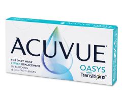 Acuvue Oasys with Transitions (6 lęšiai)