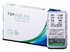 TopVue Air for Astigmatism (1lęšis)