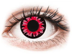 ColourVUE Crazy Lens - Volturi - vienadieniai be dioptrijų (2lęšiai)