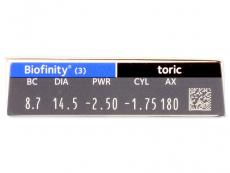 Biofinity Toric (3lęšiai)