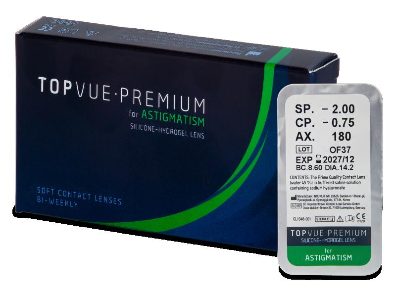 TopVue Premium for Astigmatism (1 lęšis)