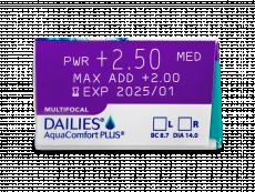 Dailies AquaComfort Plus Multifocal (90lęšių)
