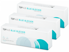 TopVue Blue Blocker (90 lęšių)
