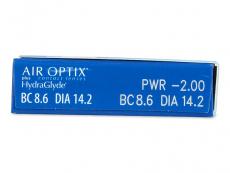 Air Optix plus HydraGlyde (6 lęšiai)