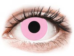 CRAZY LENS - Barbie Pink - vienadieniai su dioptrijomis (2 lęšiai)
