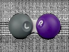 Dėkliukas kontaktiniams lęšiams - violetinė ir pilka