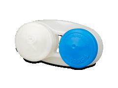 Antibakterinis lęšių dėkliukas - mėlynas