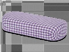 Dėklas akiniams - violetinė ir balta