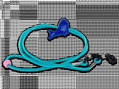 Mėlynos spalvos akinių virvelė - delfinas