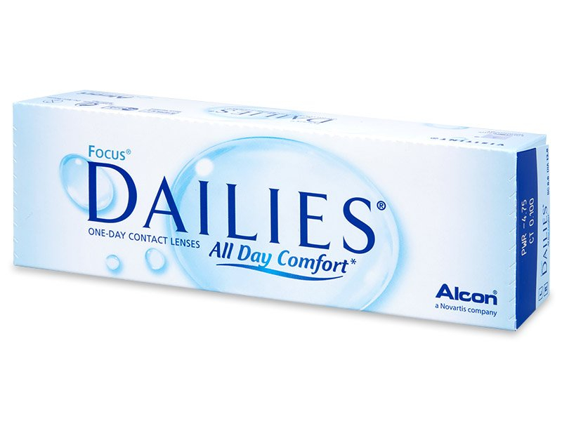 Focus Dailies All Day Comfort (30 lęšių)