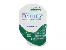 Focus Dailies Toric (30lęšių)