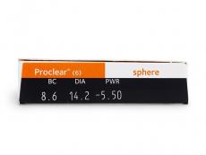 Proclear Sphere (6lęšiai)