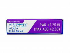 Air Optix Aqua Multifocal (6 lęšiai)