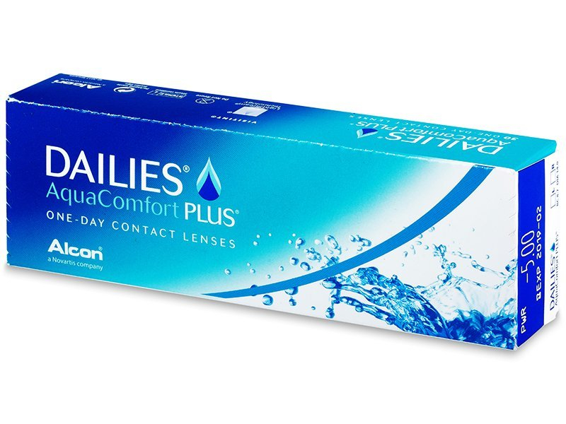 Dailies AquaComfort Plus (30lęšių)