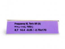 Frequency XCEL Toric XR (3lęšiai)
