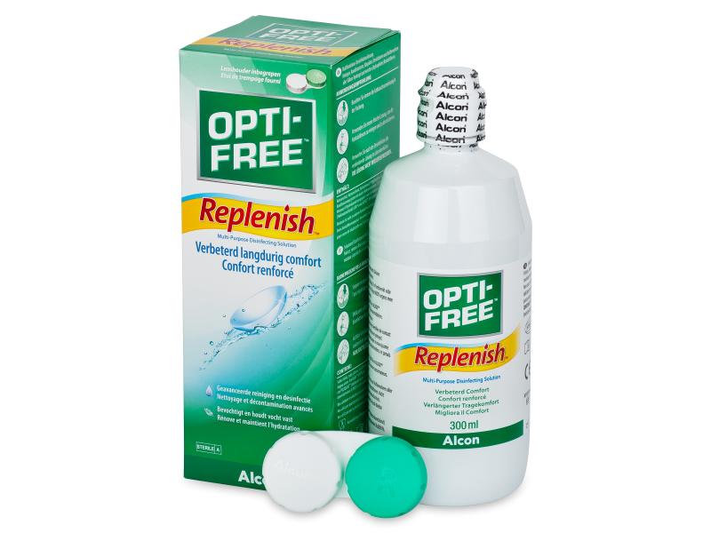 Valomasis tirpalas Opti-Free RepleniSH 300 ml