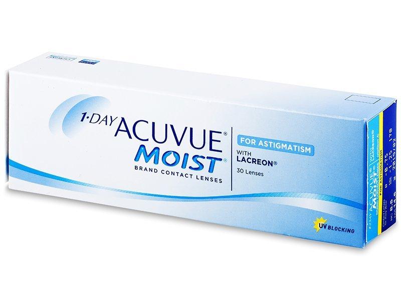 1 Day Acuvue Moist for Astigmatism (30lęšių)
