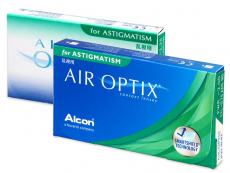 Air Optix for Astigmatism (6 lęšiai)