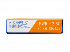 Air Optix Night and Day Aqua (3 lęšiai)